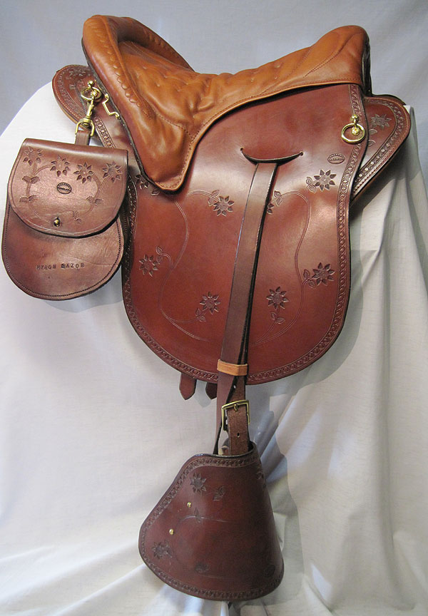 Hillcrest Saddlery Custom Plantation Saddles
